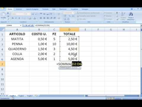 Come proteggere formule e informazioni fisse in una soluzione con foglio Excel