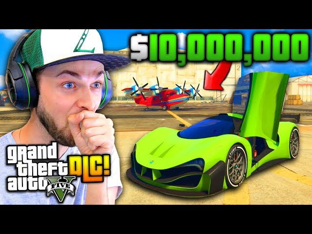 SO I SPENT $10,000,000...! - (GTA 5 Smugglers Run DLC)