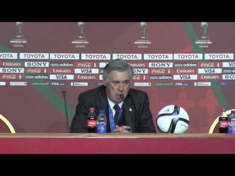 "Carlo Ancelotti: ""Real beste Mannschaft der Welt"" | Real Madrid - CA San Lorenzo 2:0"