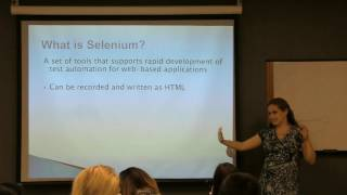 What is Test Automation? What is Selenium Webdriver? Interview questions.