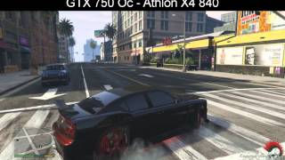 GTA5 (PC) GTX 750 OC - Athlon x4 840
