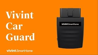 Vivint Car Guard: Protected Wherever You Park It