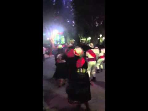 Street Dancing in Tupiza, Bolivia