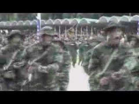 Venezuela displays its military build-up - 06 Jul 07