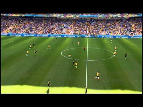 Australia Spain 2014 World Cup Full Game ESPN USA Espana