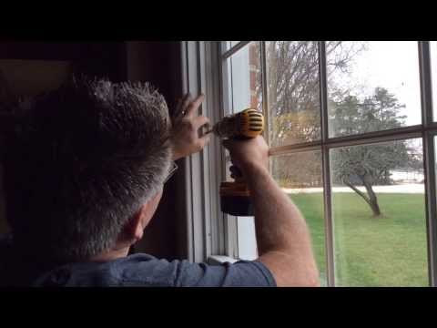 Installing Alliance Vinyl Windows in Andersen Frames