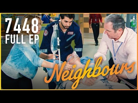 Mark's Life Hangs In The Balance - Neighbours 7448 Full Episode