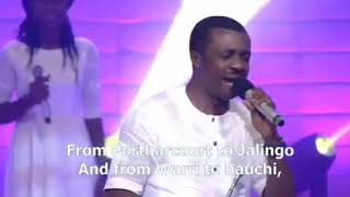 MINISTER NATHANIEL BASSEY WORSHIP at The African Praise Experience 2016360p