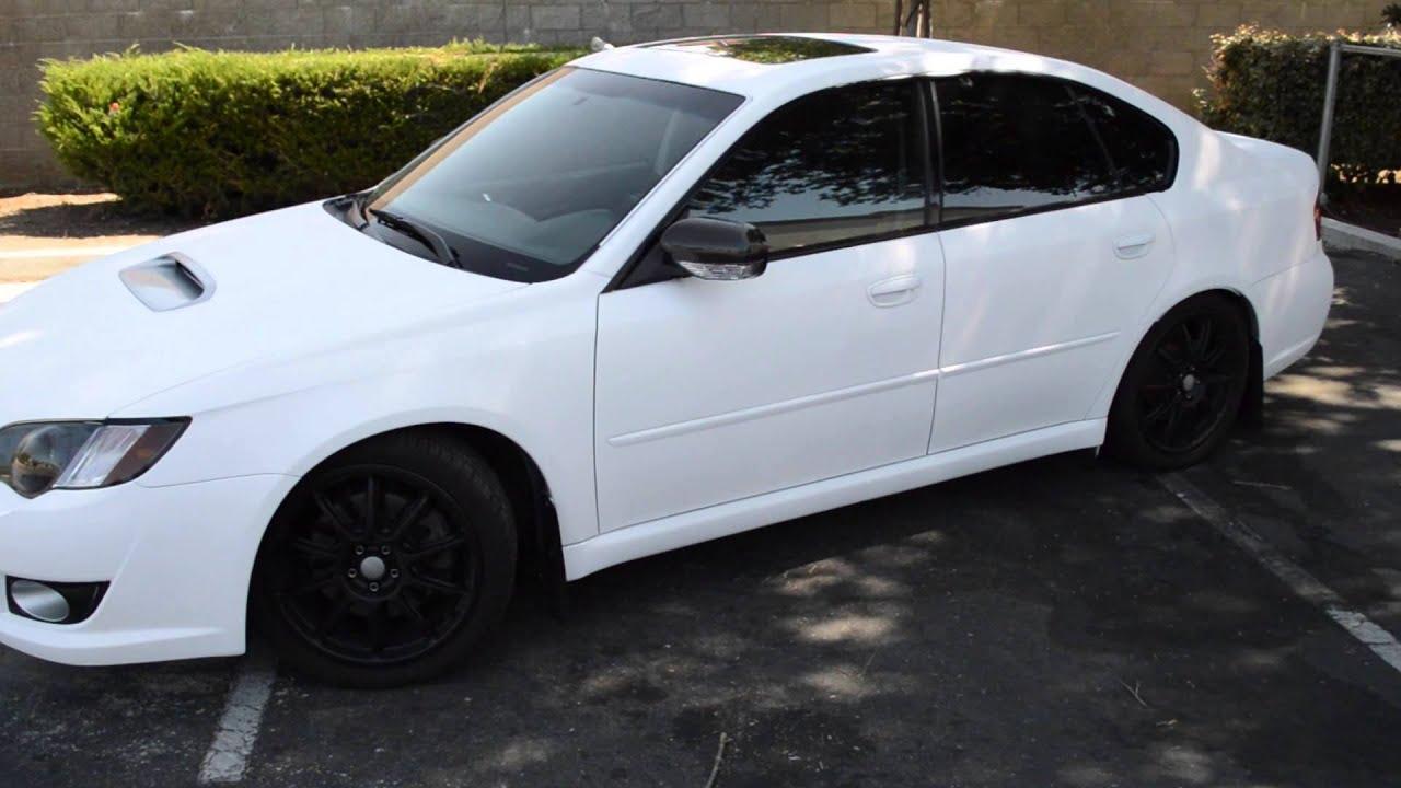 Plasti Dip Matte White Subaru Legacy Gt Youtube