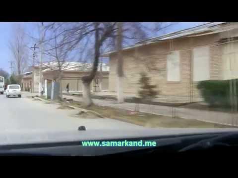 Улицы Самарканда январь 2013 - ул. Садриддина Айни
