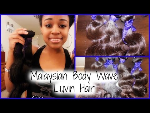 Luvin Hair Malaysian Body Wave Initial Review