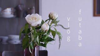 【vlog】帰省の土産 / おひつを迎える / お茶時間  / 毎朝の風景 / 今週の花 / 友人とのひと時