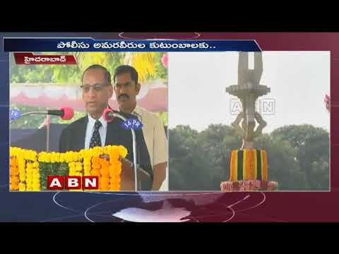 Governor Narasimhan Speech in Police Commemoration Day 2018