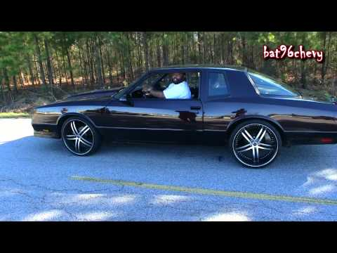 BURNOUT Chevy Monte Carlo SS Aerocoupe on 22