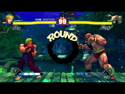 Street Fighter Iv (1920x1080 - 16xaa) - Gtx 570 - Gameplay Pt.2