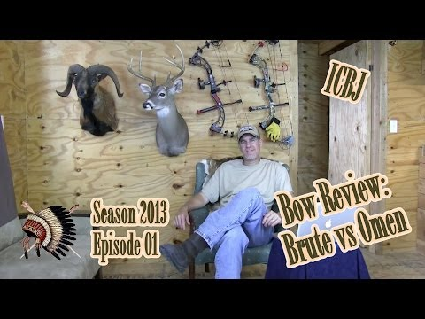 Bow Review: PSE Omen vs PSE Brute - Indian Creek Bowhunting Journal 2013 Season Episode 01