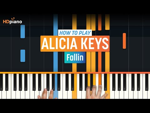Alicia Keys - Fallin Piano