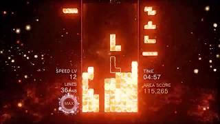 A Modern TETRIS Expert plays TETRIS EFFECT Journey Mode (Demo)