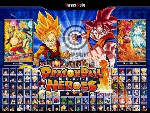 Super Saiyan God I Dragon Ball Heroes M U G