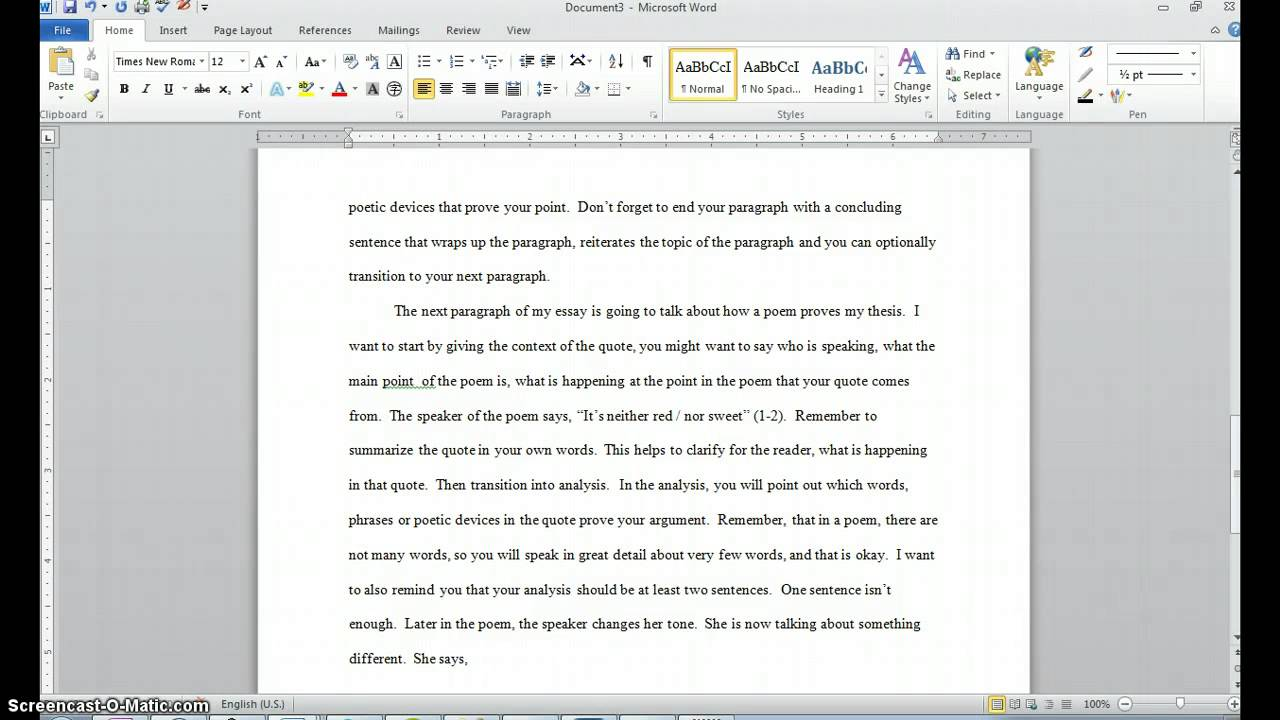 Mba essay layout template
