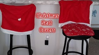 Christmas Seat Covers | Dollar Tree 🎅