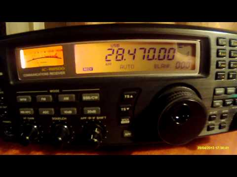 28470khz,Ham Radio,CX3DAM(ALEX,Uruguay)