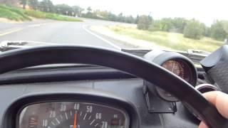 Super Fast White Knuckle Ride Subaru 360 ( two stroke sounds )