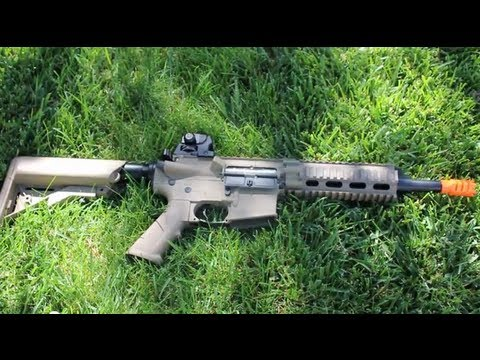 G&G GR16 CQW Rush Airsoft Review