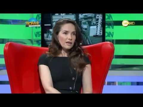 Natalia Oreiro . Sonríe Te estamos grabando . 04.04.2014 Uruguay