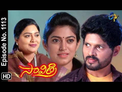 Savithri | 25th October 2018 | Full Episode No 1113 | ETV Telugu