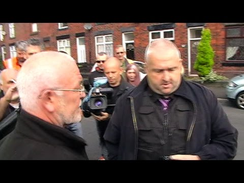 BULLY BAILIFFS CHASED out of BURY!!! [Police act on their OATH!]