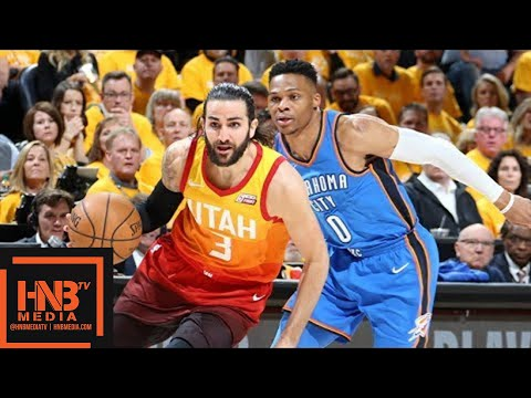 Oklahoma City Thunder vs Utah Jazz Full Game Highlights / Game 3 / 2018 NBA Playoffs