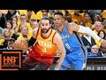 Oklahoma City Thunder Vs Utah Jazz Full Game Highlights / Game 3 / 2018 Nba Play