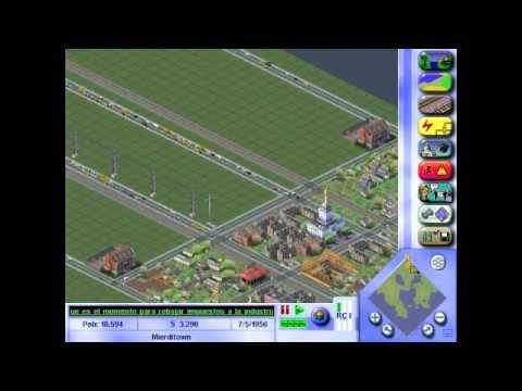 SimCity 3000 Cómo hacer una ciudad / Tutorial / Parte 1 / Pastilla