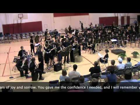 Indian Creek High School Band, Senior Song 2012
