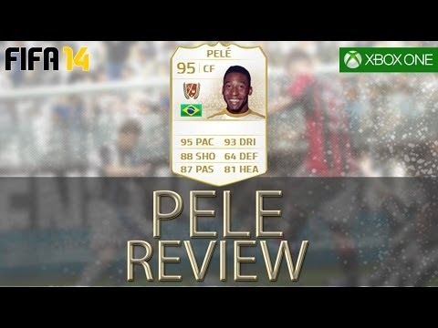 95 PELE PLAYER REVIEW - FIFA 14 ULTIMATE TEAM GAMEPLAY