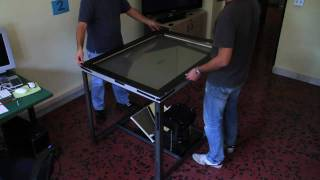 How to build your own multitouch table?