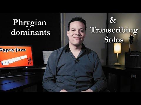 Gypsy Jazz Quick Tips - Episode 4: Phrygian Dominants & Transcribing Solos