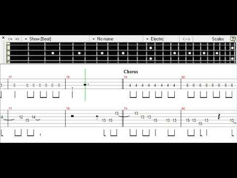 Naruto Shippuden ED Trouble Maker - KANIKAPILA Bass TAB