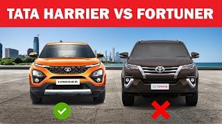 Comparison -Tata Harrier vs Toyota fortuner