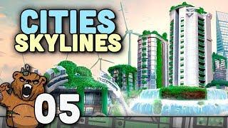 Casa na montanha   Cities Skylines #05 - Green Cities Gameplay Português PT-BR
