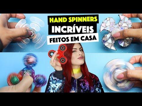 COMO FAZER SEU HAND SPINNER EM CASA - VÁRIAS IDÉIAS  | KIM ROSACUCA thumbnail