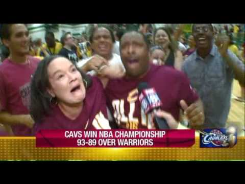 Akron reacts to the Cavs winning