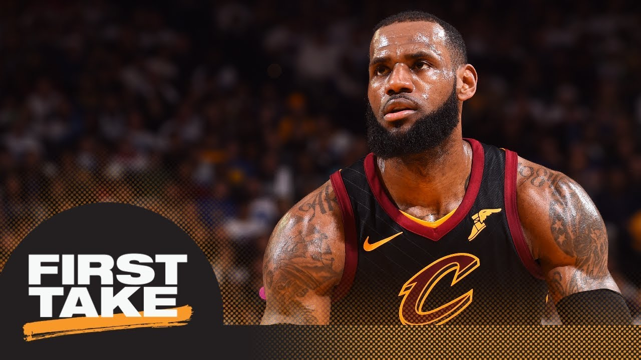 LeBron James says he doesn't sleep over Finals losses; Should Cavaliers fans care? | First Take | ES