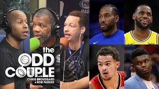 Rashad Phillips Talks Trae Young, Zion, Load Management & Anthony Davis