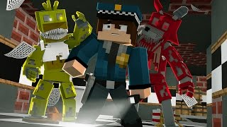 Minecraft: FIVE NIGHTS AT FREDDY'S #1 - A PRIMEIRA NOITE!
