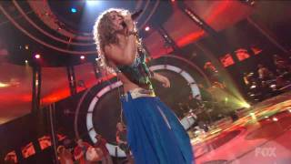 Shakira Hips Don't Lie Live at American Idol HD 720