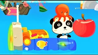 Little Captain | Baby Panda Explore The Sea with The Cool Boat | Babybus Kids games