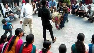 TRADITIONAL JAUNPURI/JAUNSARI DANCE IN JAUNPURI MARRIAGE PARTY MUSSOORIE