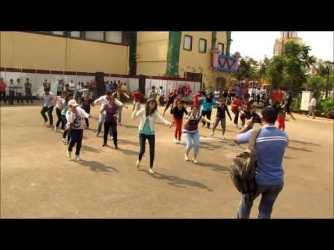 Flash Mob at Adlabs Imagica - Symantec NetBackup 7.6/2.6 Release celebration